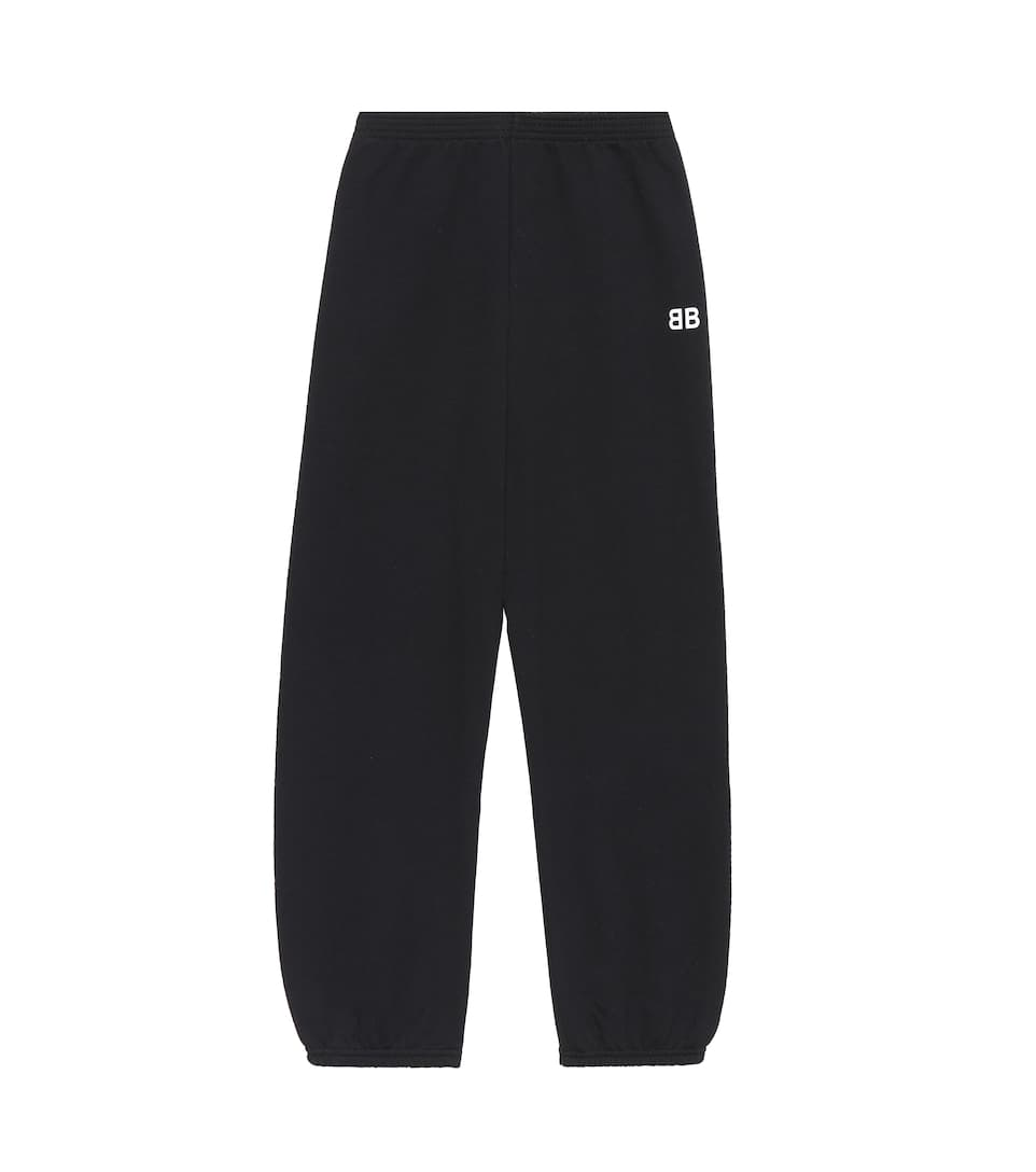 Balenciaga Kids Trackpants aus Baumwoll-Stretch