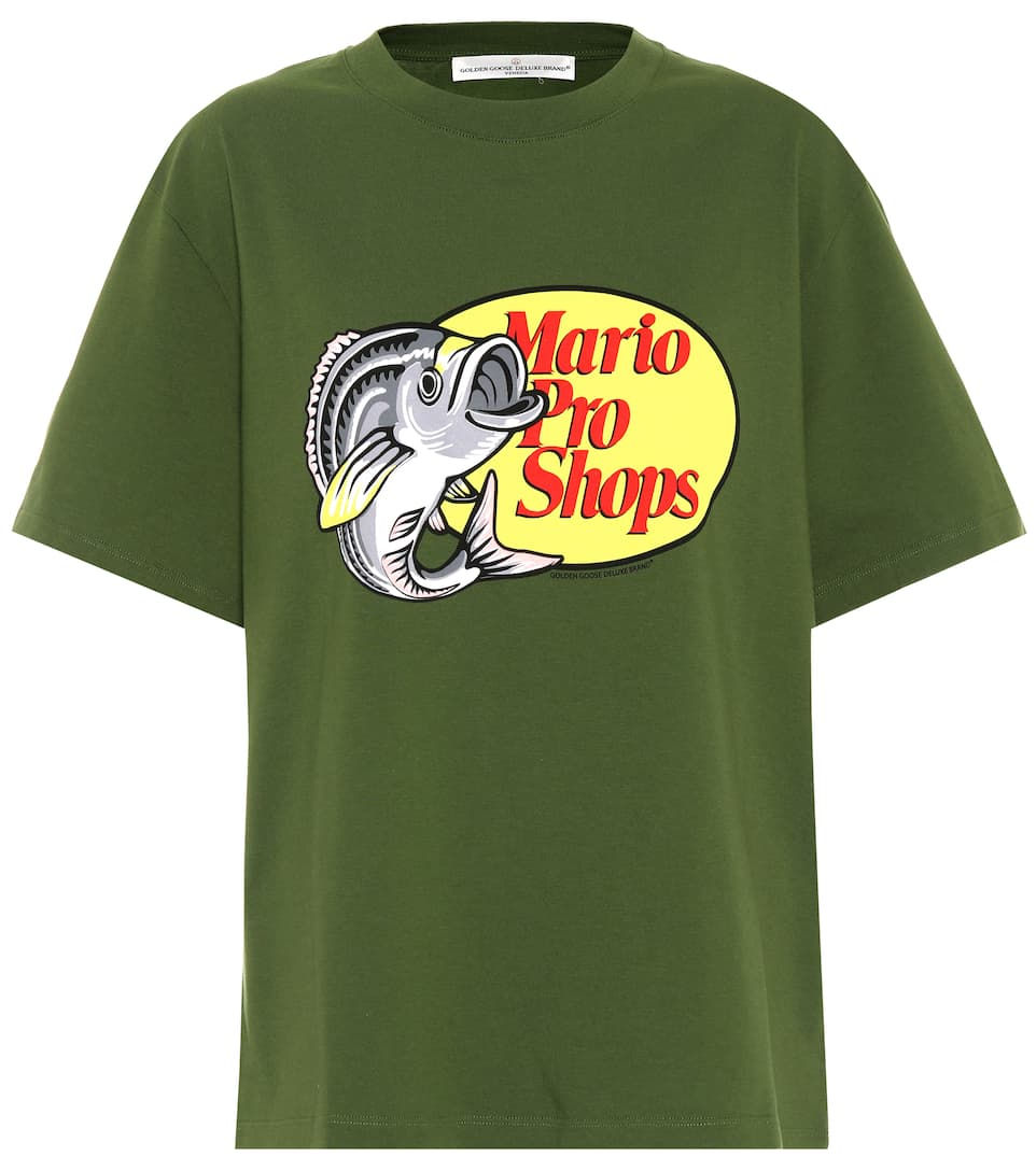 T Shirt Samia Green Mario Pro Shops, Female