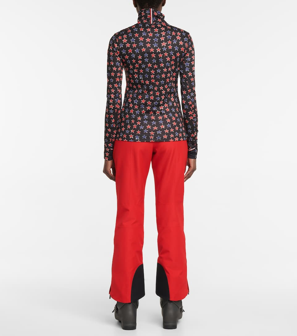 Moncler Genius - 3 Moncler Grenoble printed technical-jersey top