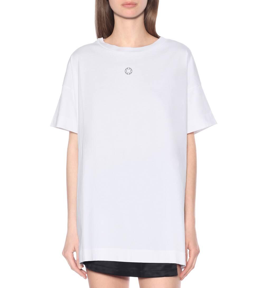 1017 ALYX 9SM - Hook-embellished cotton T-shirt