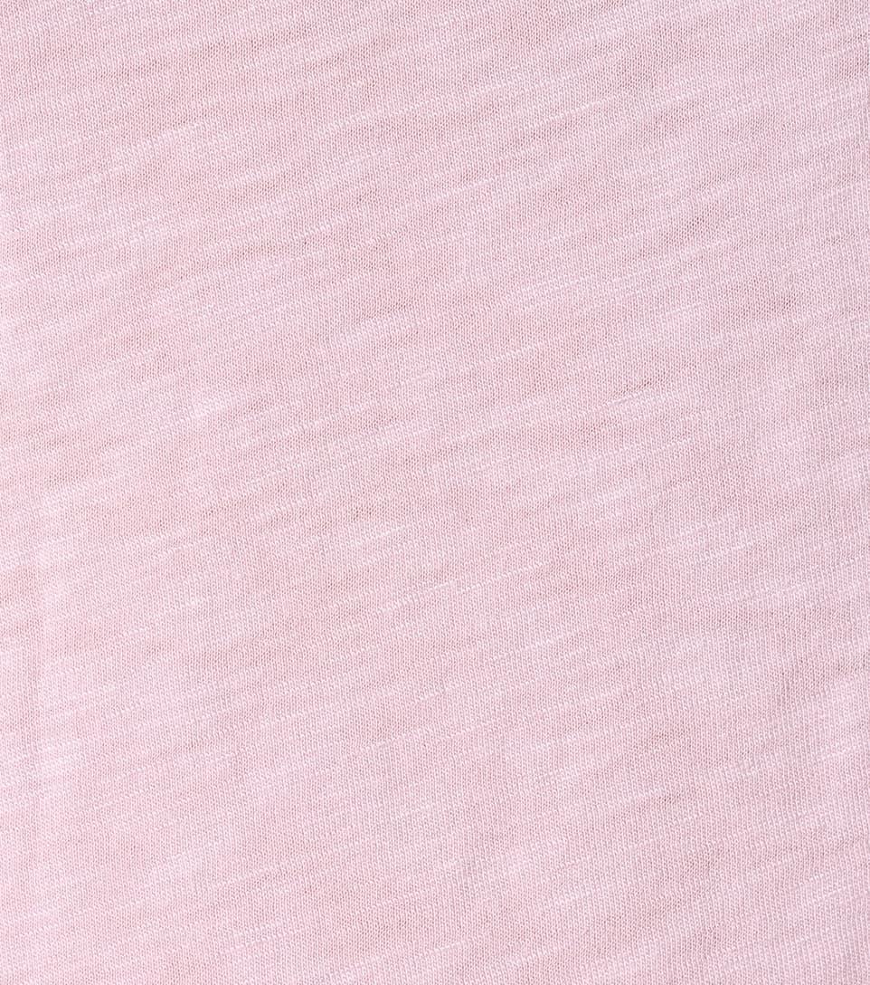 en Courtney de terciopelo Pink algodón mezcla Camiseta Nectra de wqxtqz4Z