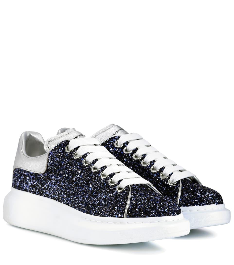 Sneakers Con Glitter | Alexander McQueen - mytheresa
