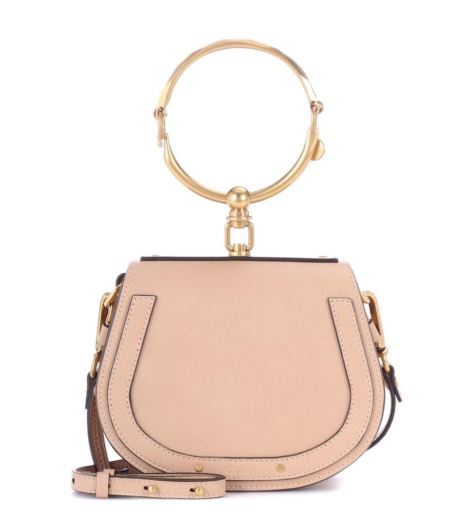 Chloé Crossbody-Tasche Nile Bracelet Small aus Leder