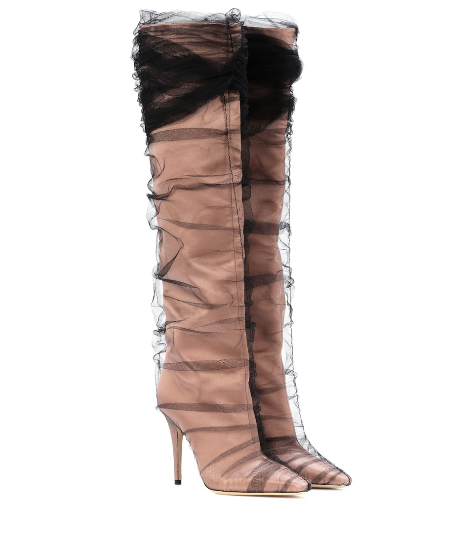 Satin Boots - Jimmy Choo | mytheresa
