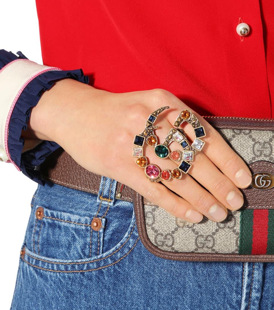 Gucci Double G multi-finger ring g9ylJN