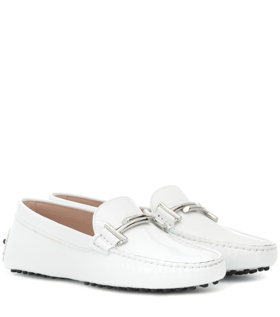 b875d183b0a Gommino Patent Leather Loafers - Tod's | mytheresa.com