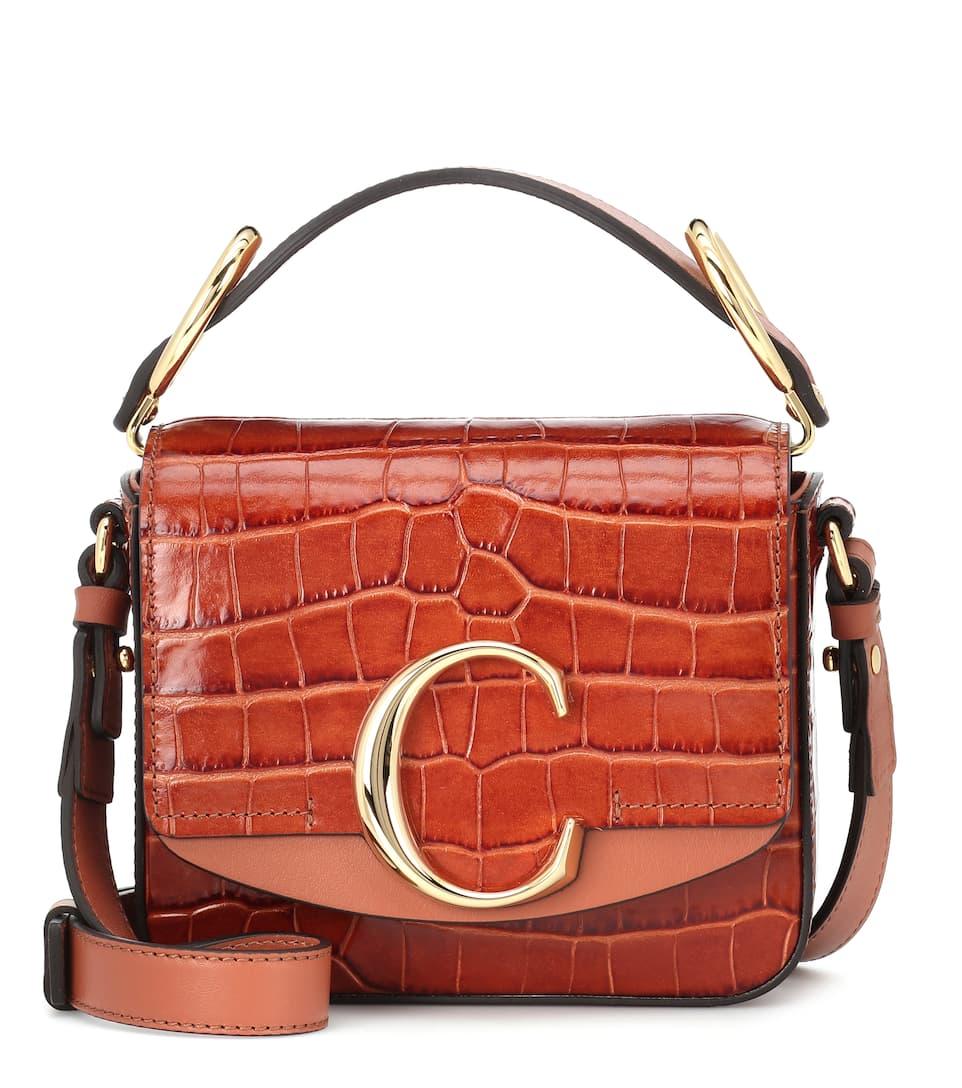 f2f61e754d590 Chloé C Mini Leather Shoulder Bag | Chloé - mytheresa.com