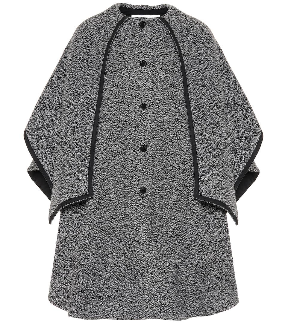 15cd6d8d5b See By Chloé - Wool-blend cape | Mytheresa