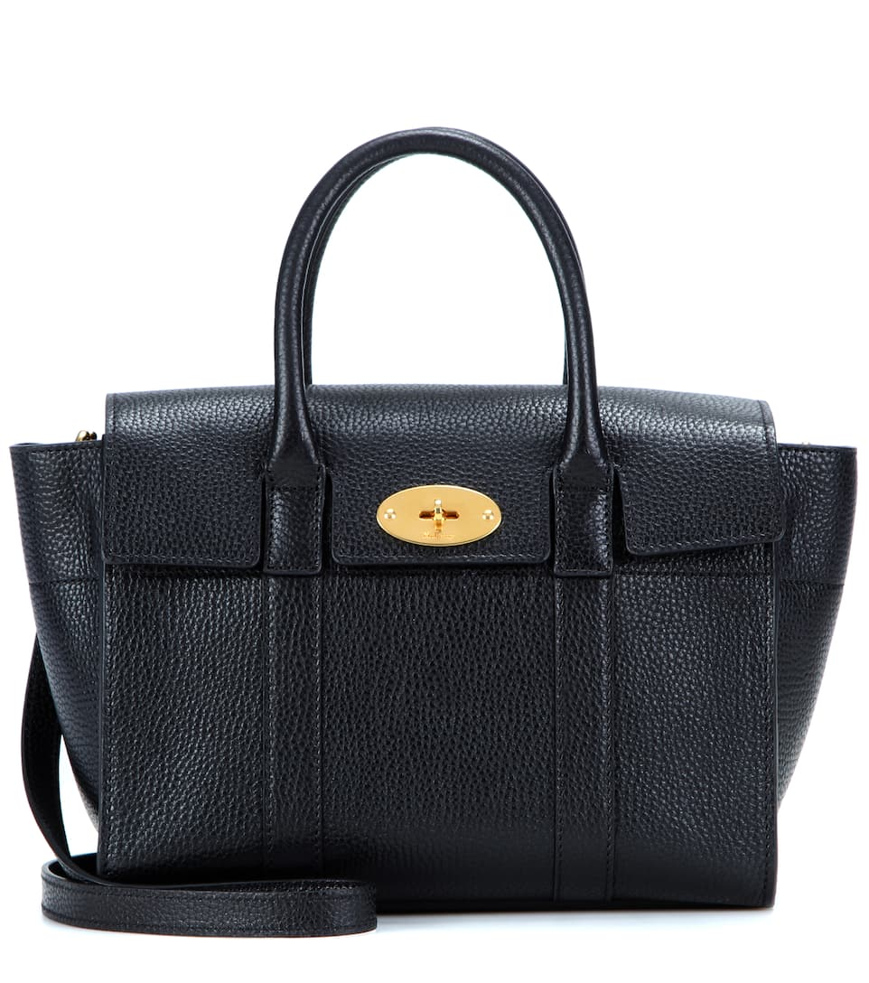 Bayswater Small Leather Tote - Mulberry  0acc19f37ad01