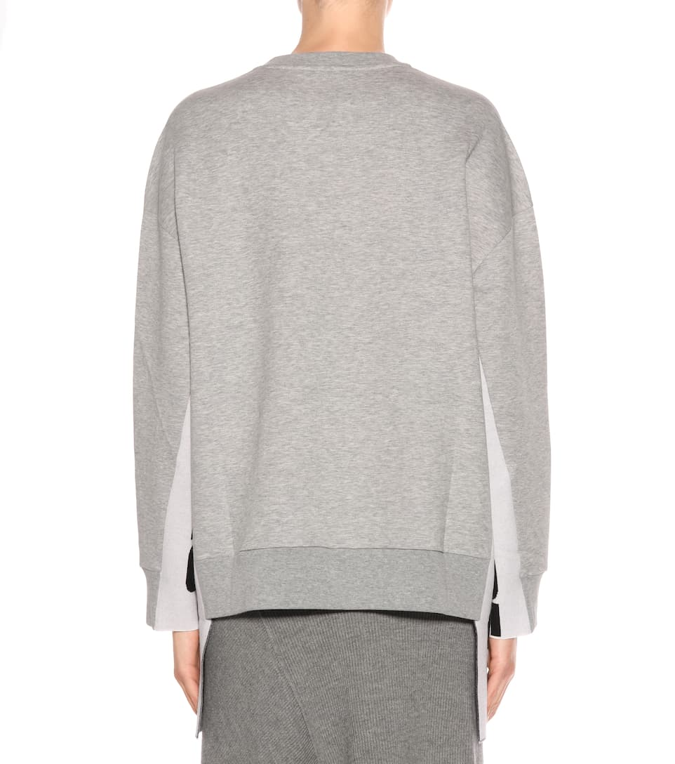 Stella McCartney Verzierter Sweater mit Baumwollanteil