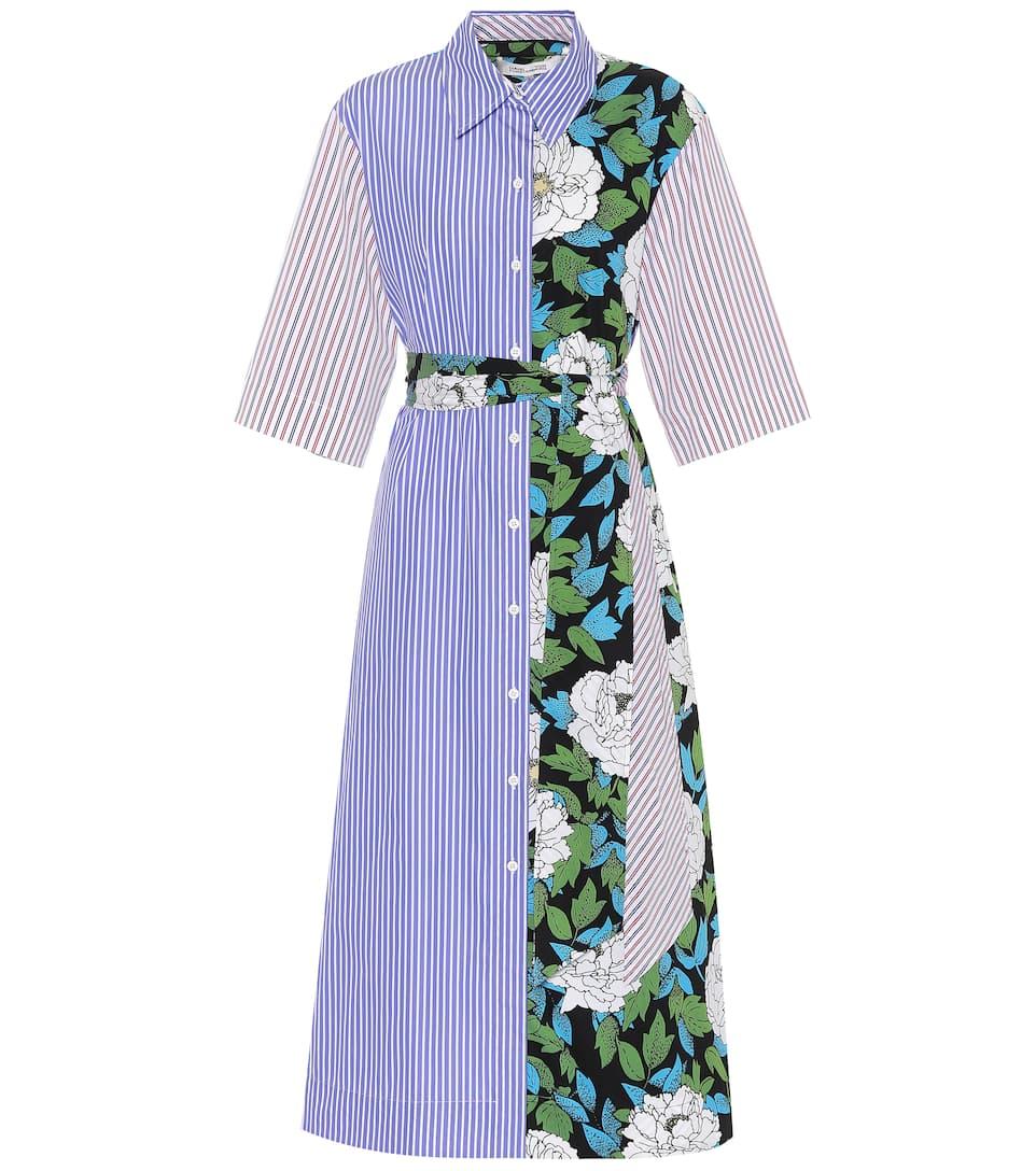Diane von Furstenberg Hemdblusenkleid aus Baumwolle
