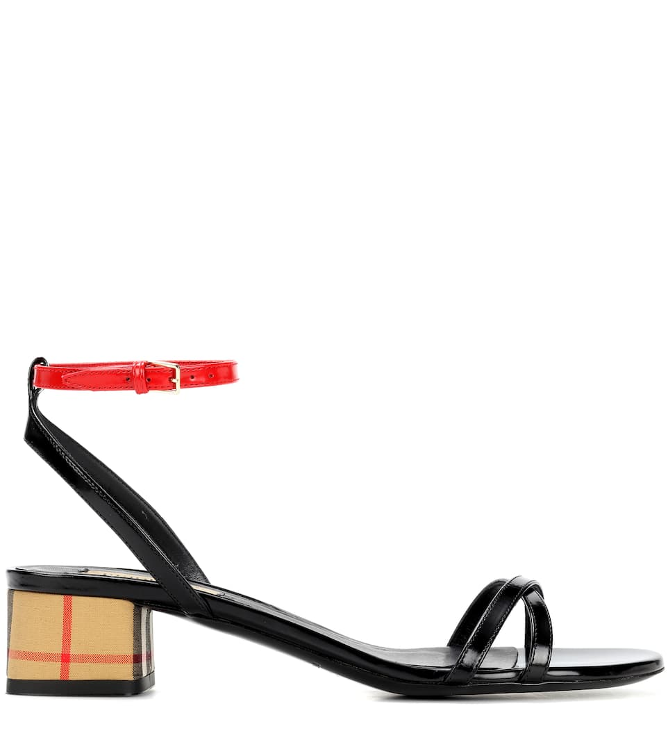 Burberry Sandals Anthea Leather From