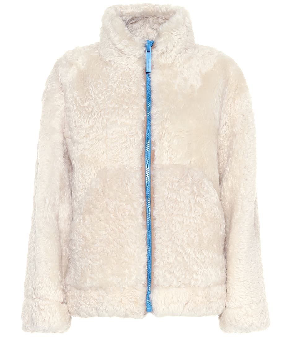 Giacca shearling Burberry Mytheresa in Giacca Burberry 1Z7xRZ