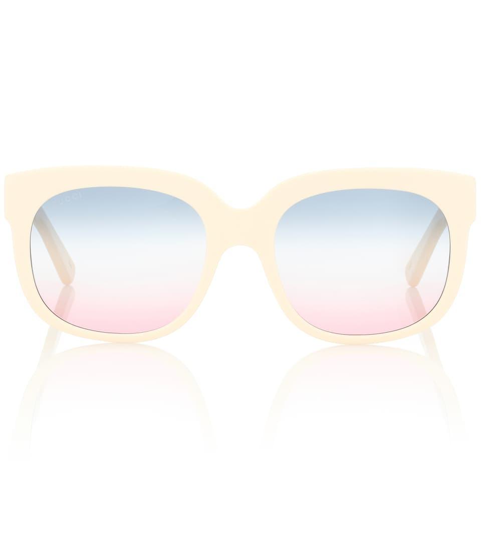 Elton John Square Sunglasses by Gucci