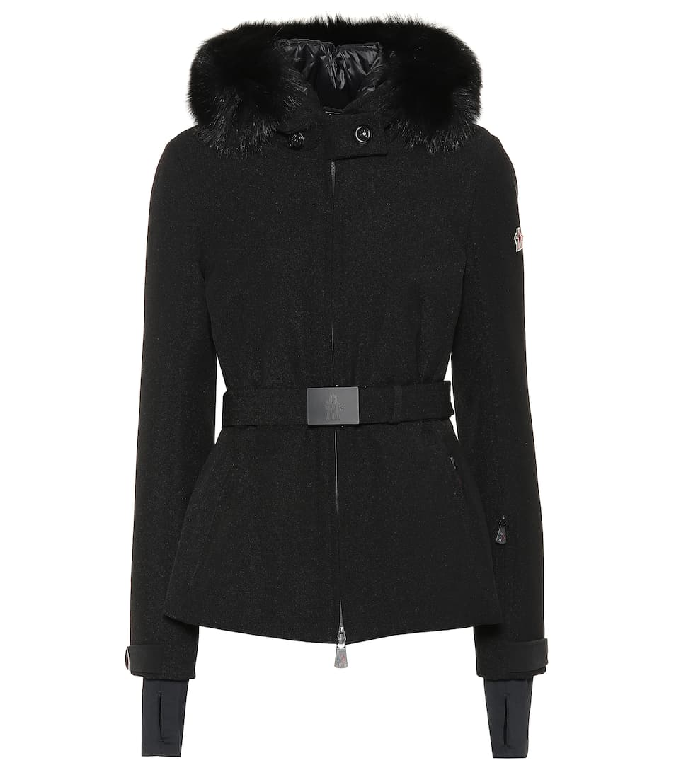 bauges-fur-trimmed-down-ski-jacket by moncler-grenoble