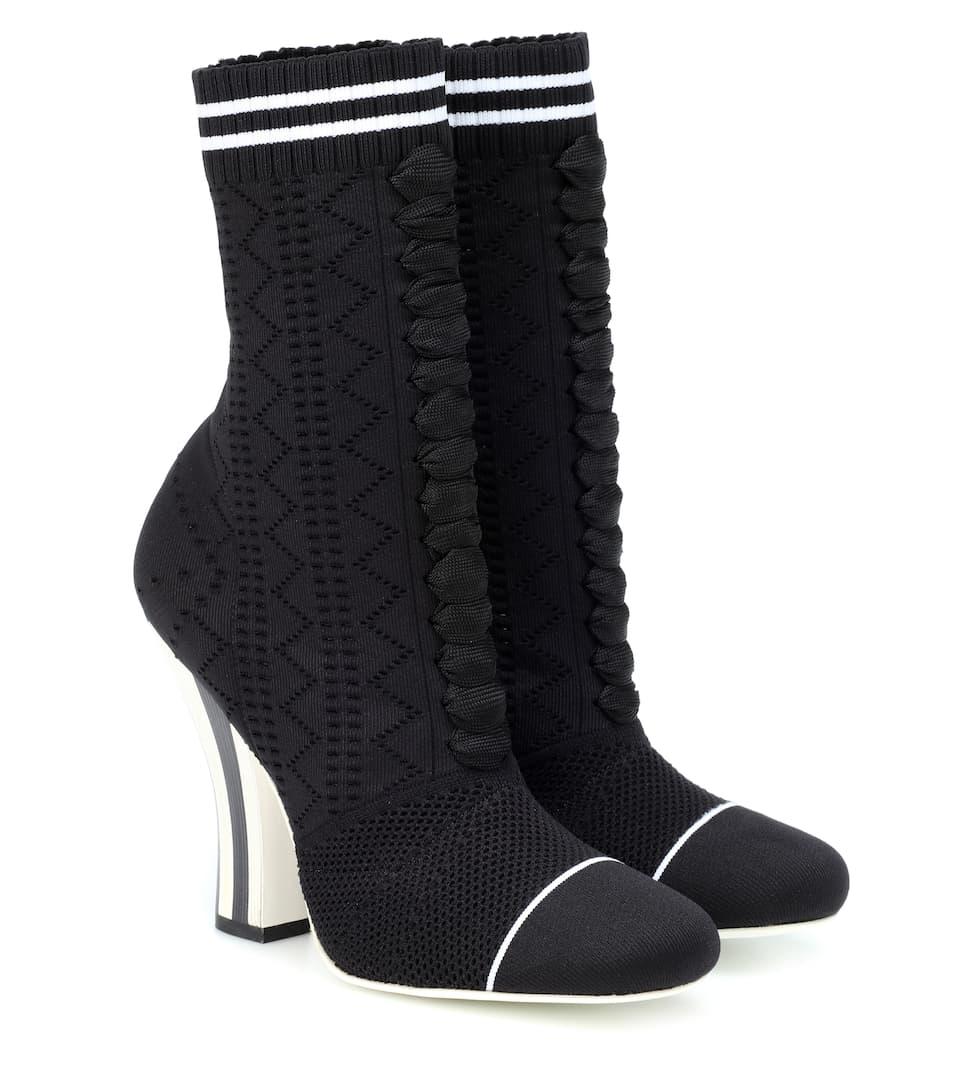 Rockoko Sock Boots by Fendi