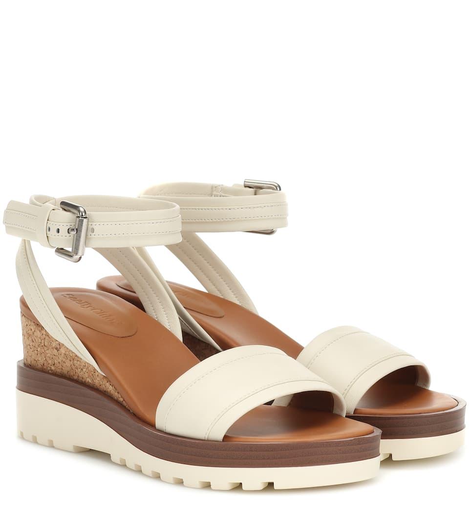 Robi Wedge Platform Sandals