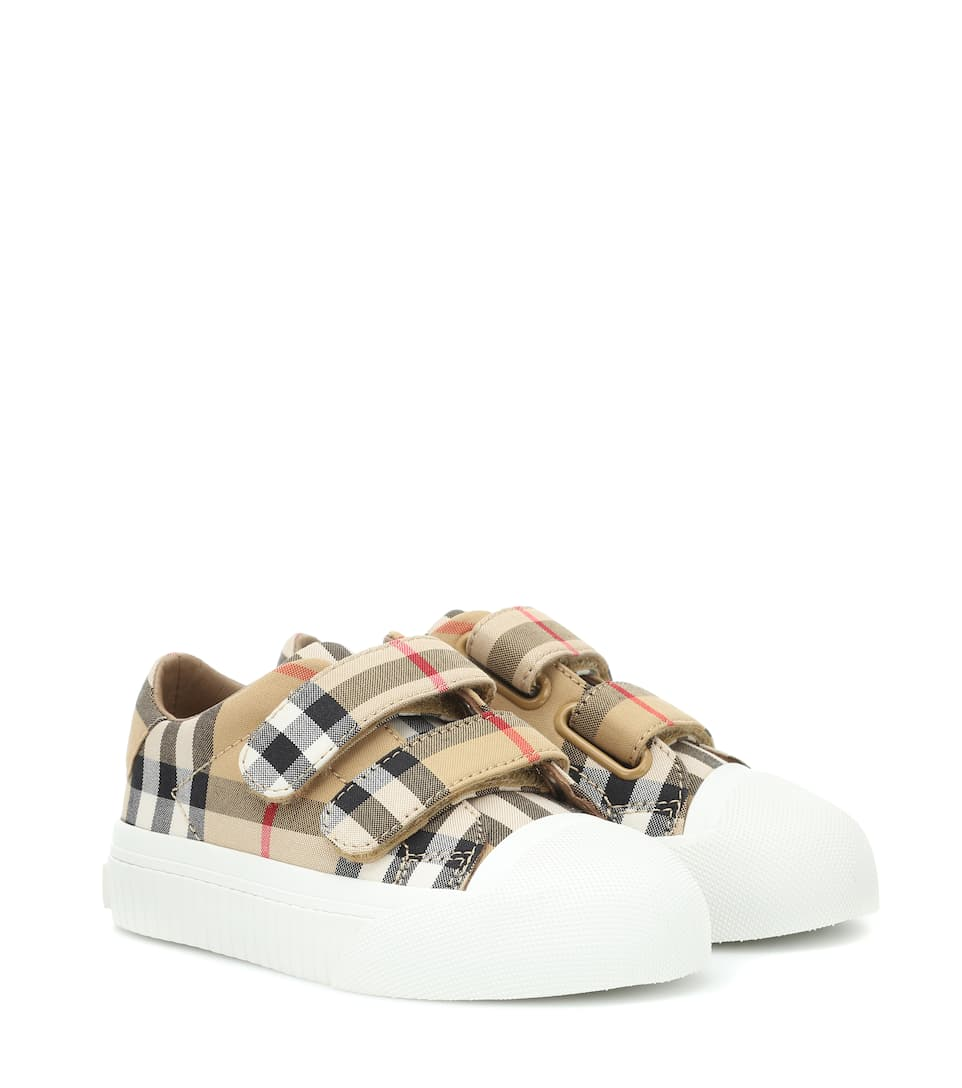 Vintage Check Sneakers - Burberry Kids