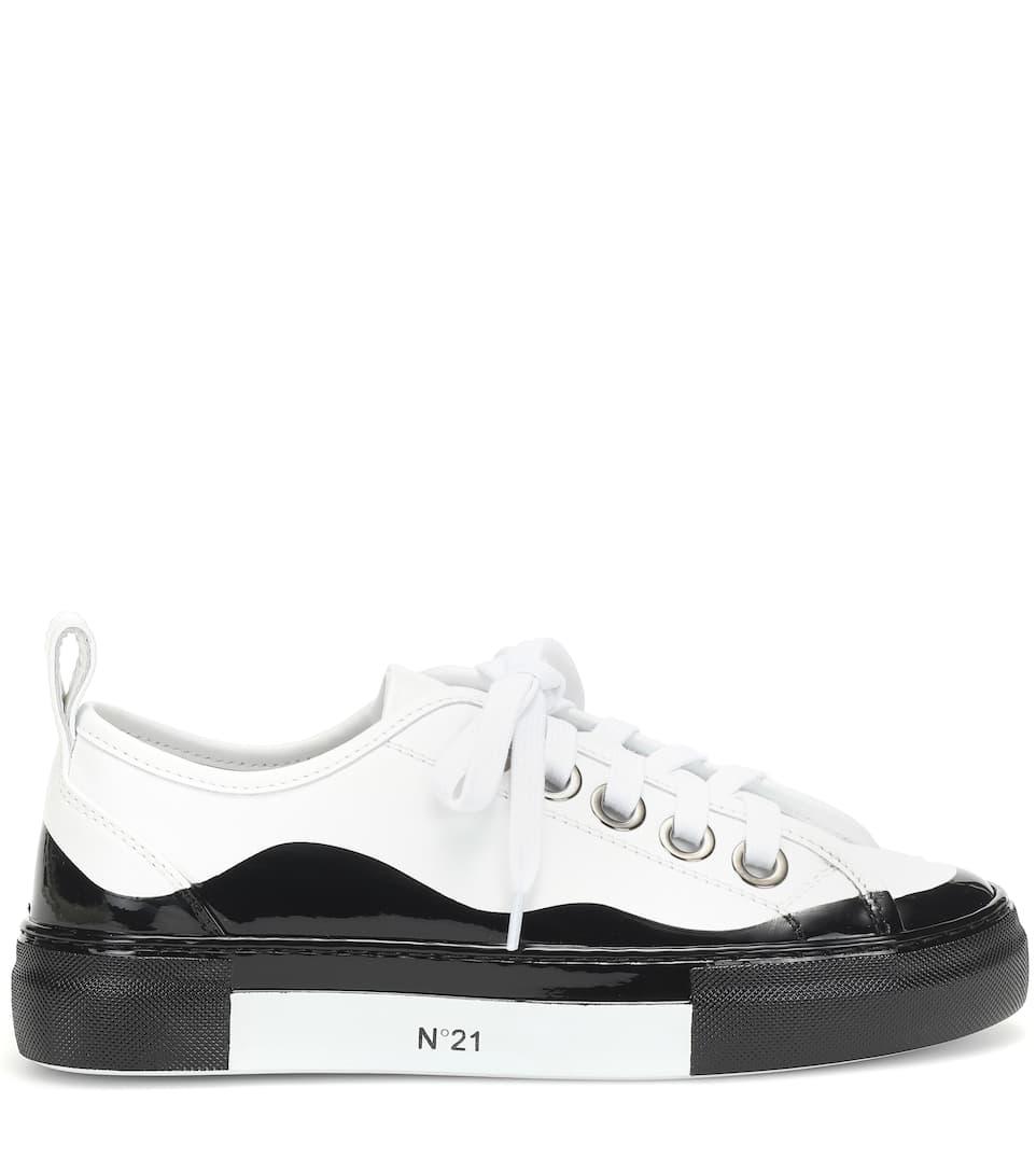 N��21 Sneakers in pelle