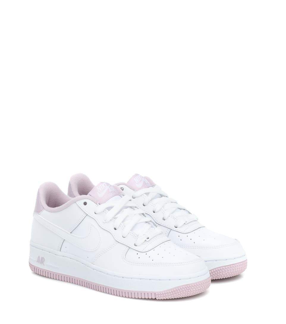 Air Force 1 leather sneakers