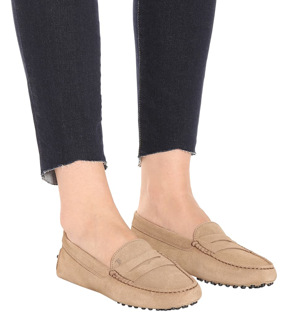 Tods Moccasins Gommino From Suede