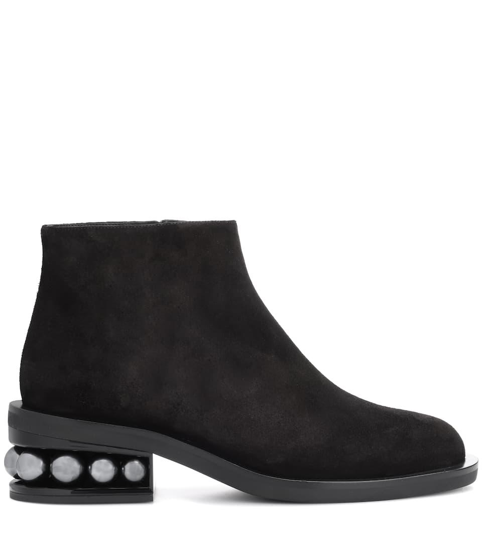 Billig Verkauf Bekommen Nicholas Kirkwood Ankle Boots Casati aus Veloursleder Rabatt Veröffentlichungstermine Billig Großhandelspreis jv9cNFp