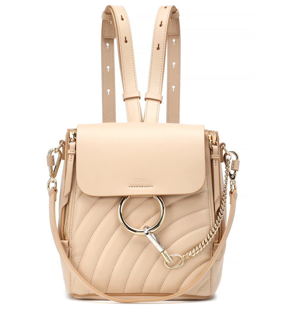 e722279998 Faye Quilted Leather Backpack - Chloé