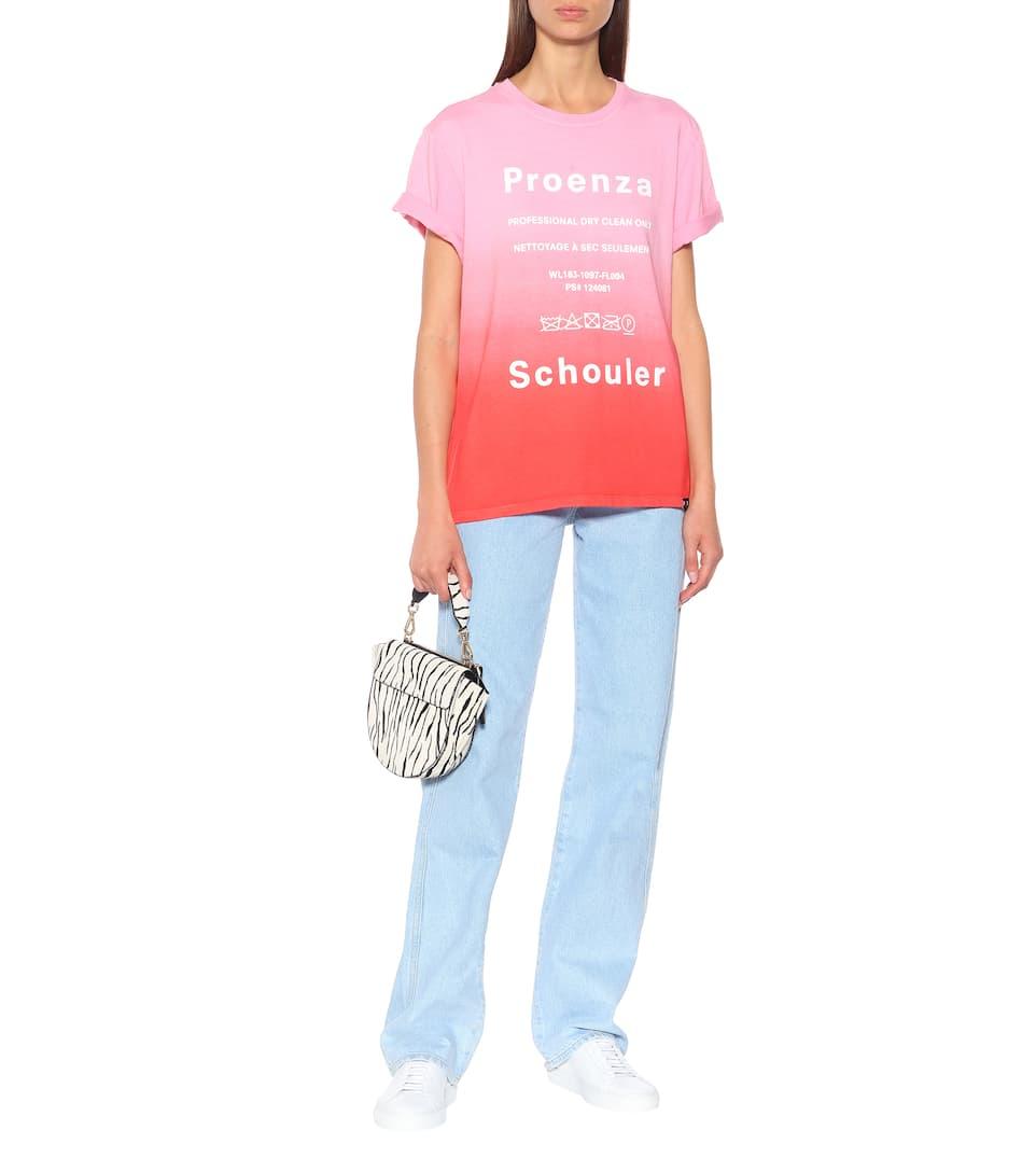 T Imprimé En Coton Proenza Schouler shirt uTlJcK3F1