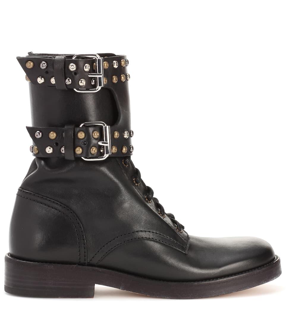 Isabel Marant Ankle Boots Teylon aus Leder