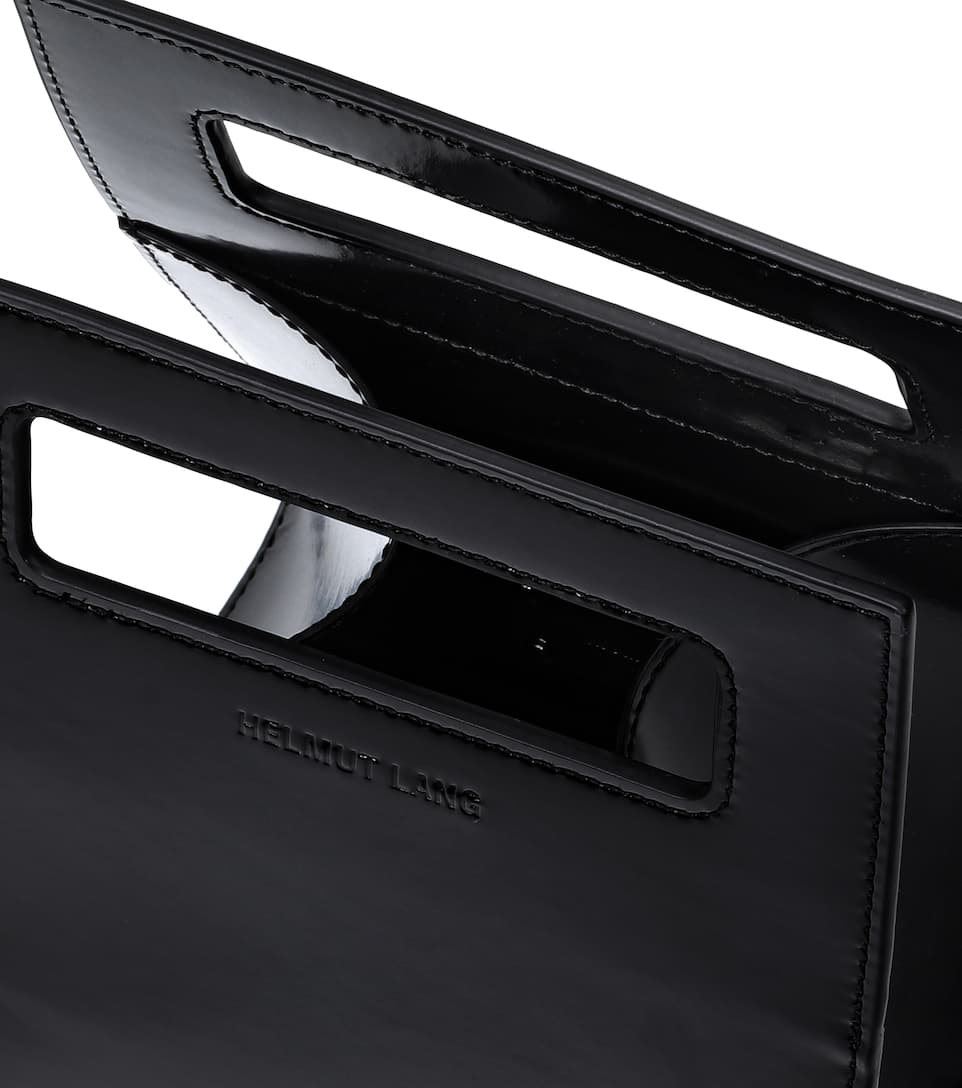 Helmut Lang Mini Lunch leather tote Black 100% Original Cheap Price Many Colors m2zYXTZSMN