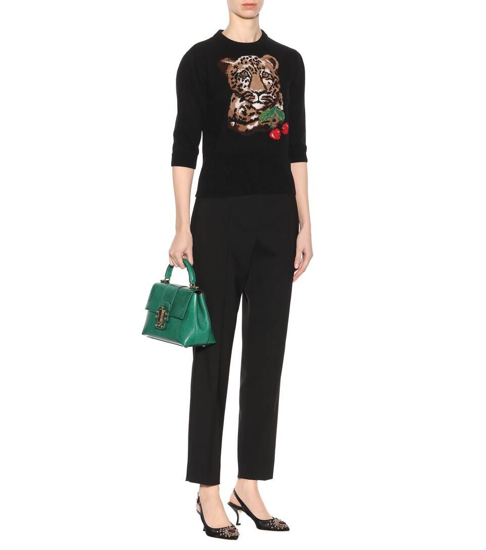 Neuesten Kollektionen Dolce & Gabbana Pullover aus Wolle und Cashmere Fälschen Zum Verkauf Billige Angebote Freies Verschiffen Verkauf Online-Shopping 170VPxtrMv