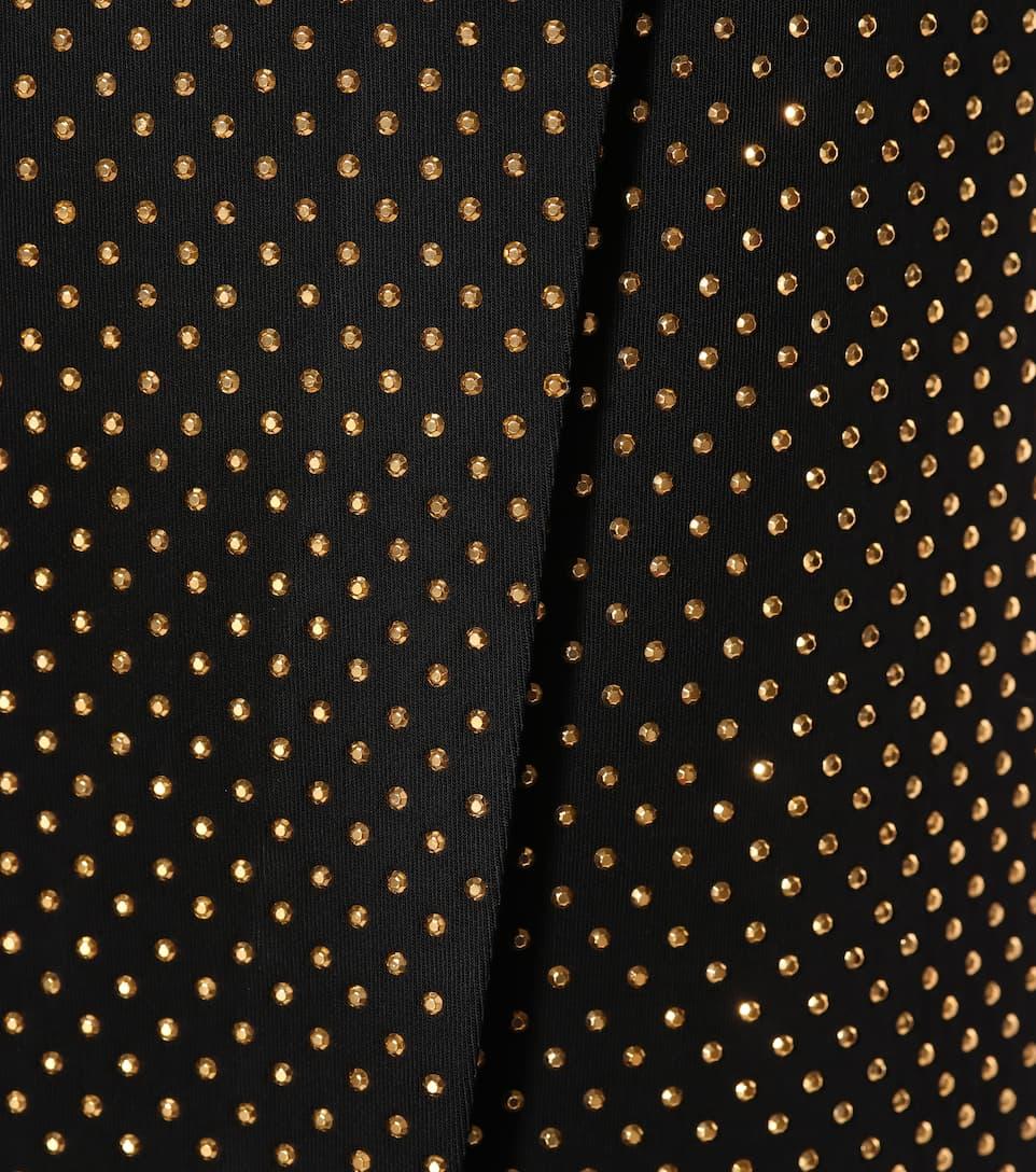 Balmain - Robe en jersey stretch à cristaux Acheter Pas Cher Nouvelle Arrivée Sortie Des Achats En Ligne Jeu Peu Coûteux Dernières Collections Bon Marché Vente Pas Cher Moins Cher C09eZ