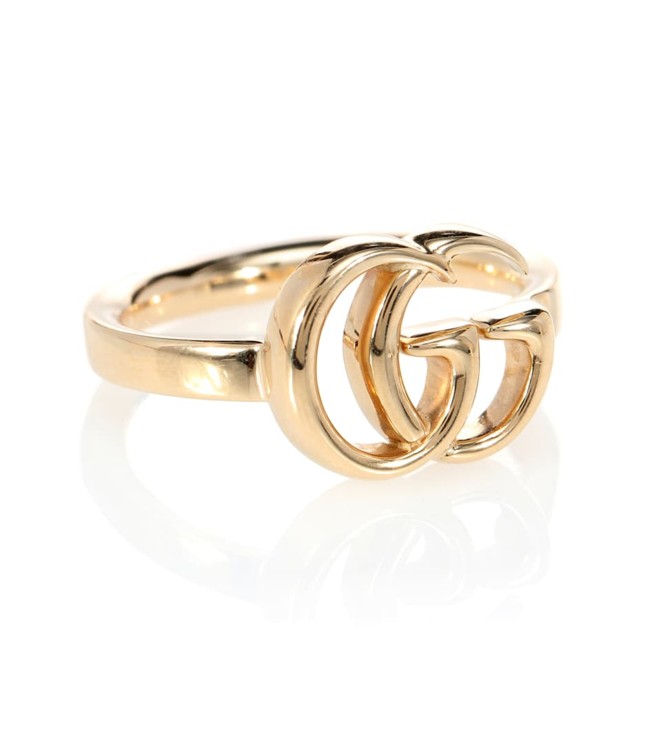 90a9b1f81f97 Gg Running 18Kt Gold Ring - Gucci