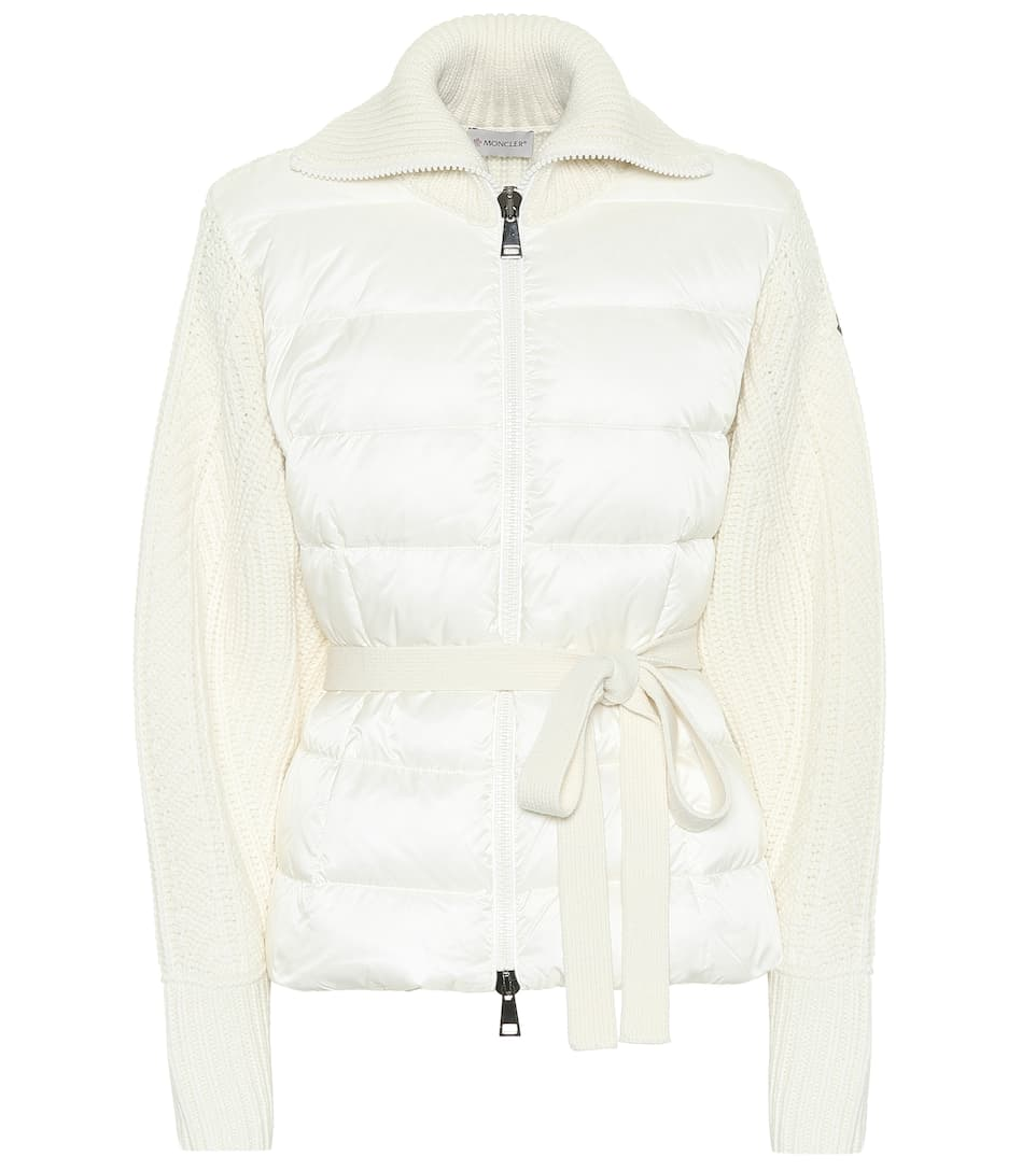 Tie Waist Down Cardigan by Moncler