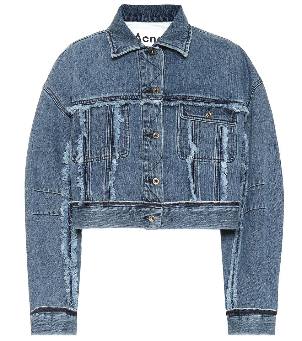 8bc67e298d Cropped Denim Jacket - Acne Studios
