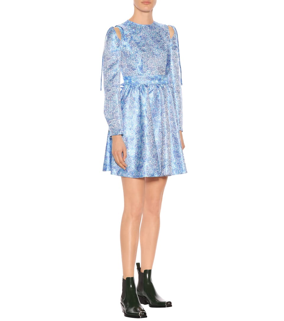 Calvin Klein 205W39NYC - Robe en brocart