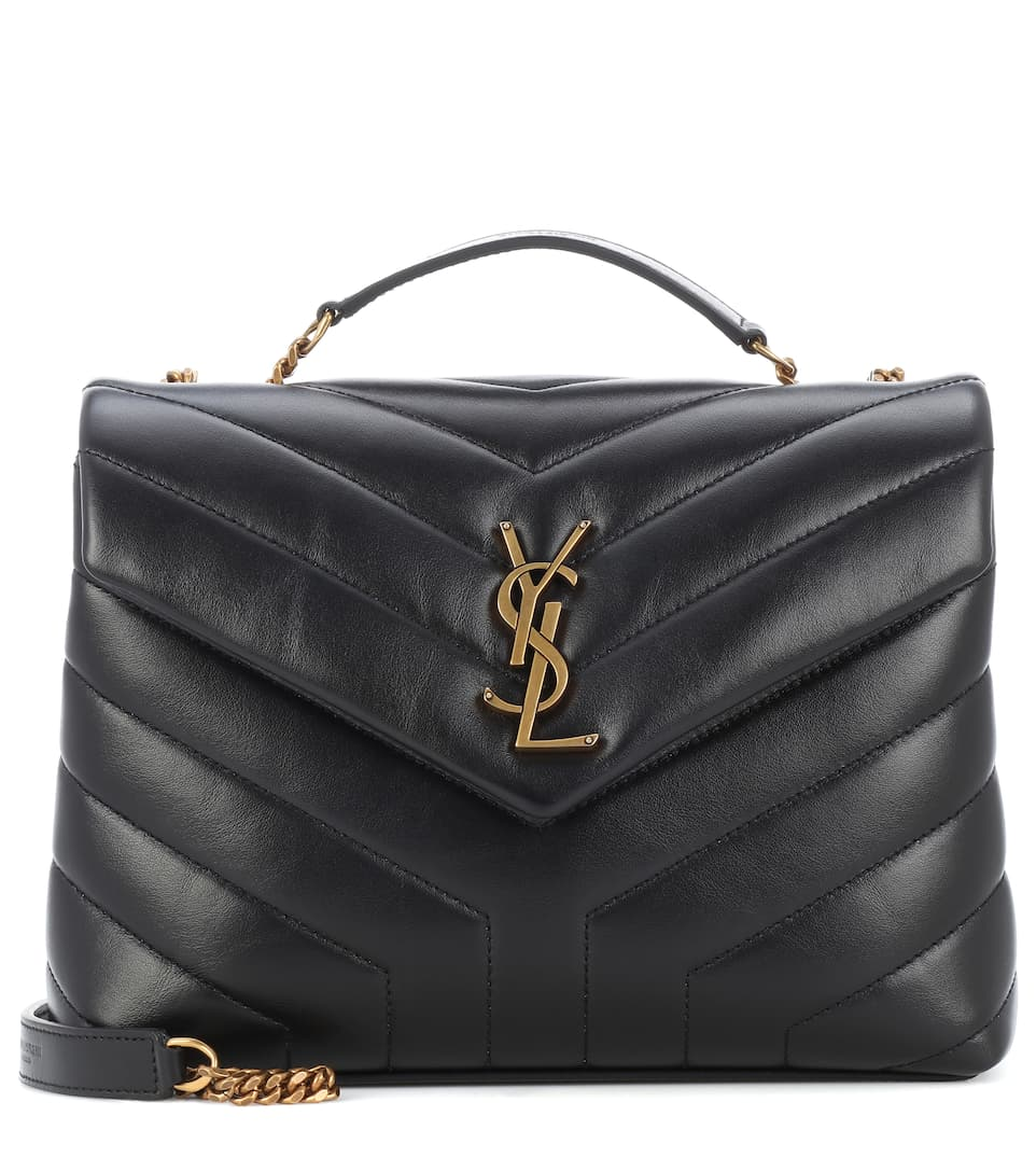 Saint Laurent - Small Loulou Monogram shoulder bag