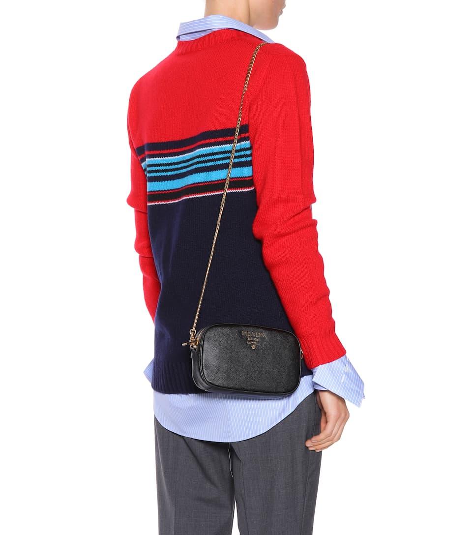 a39a48f848 Saffiano Leather Belt Bag - Prada