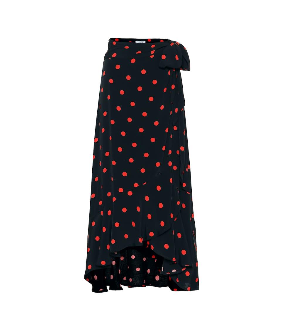Polka Dot Midi Skirt by Ganni