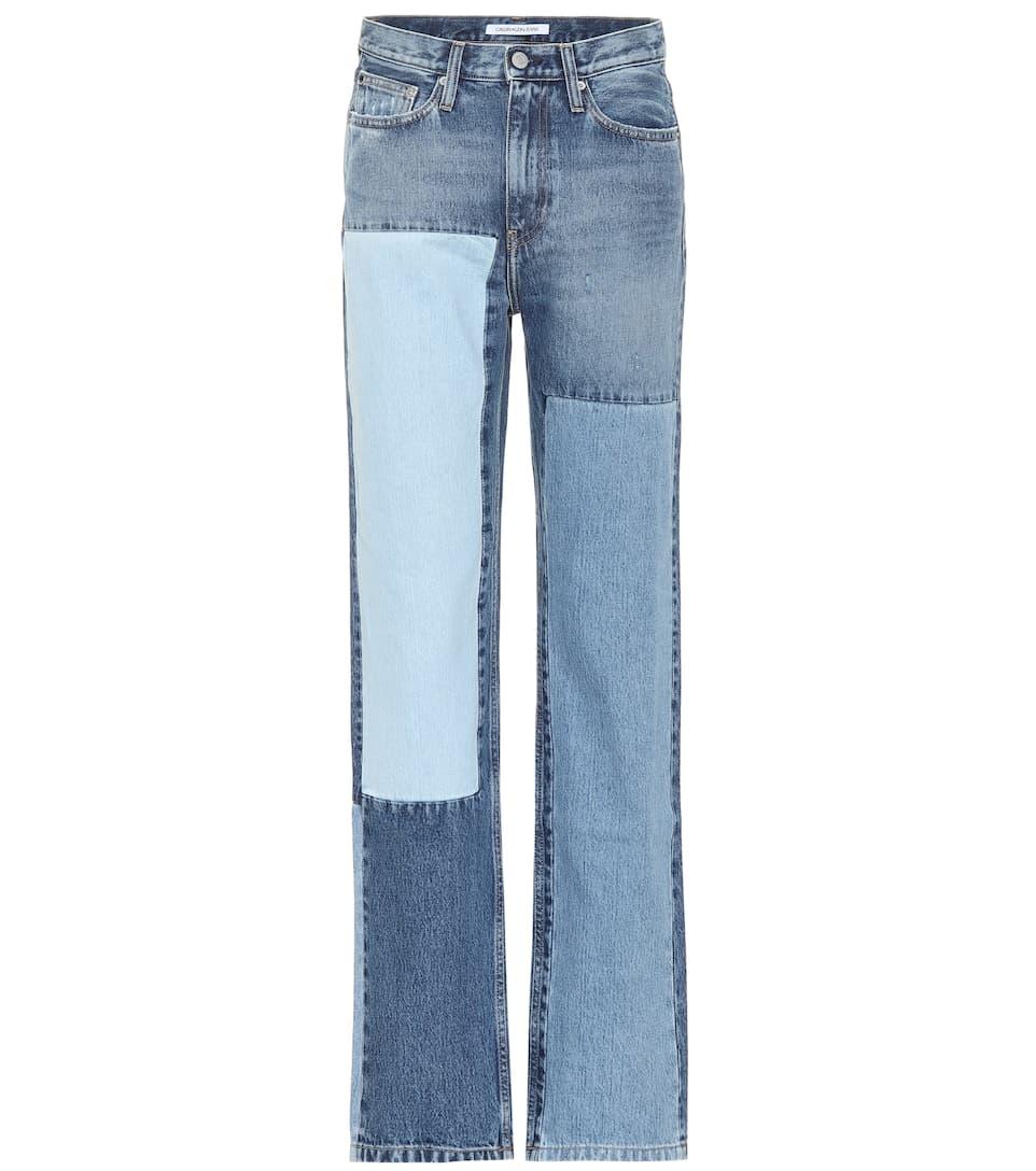 Ckj 030 High-Rise Straight Jeans - Calvin Klein Jeans  bedc3c49b3