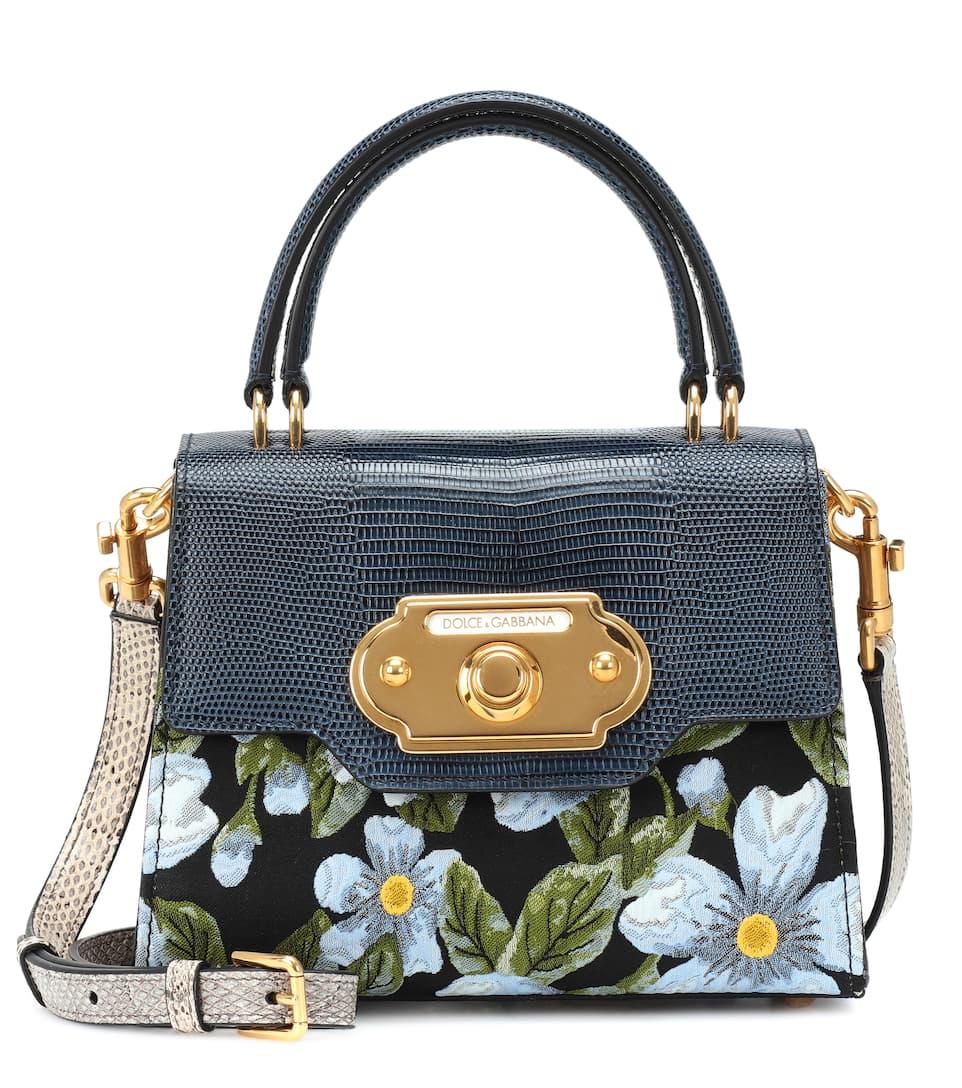 a1cff4ed31 Dolce   Gabbana - Welcome leather shoulder bag