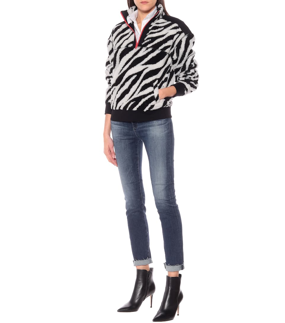Rag & Bone - Felpa a stampa zebra