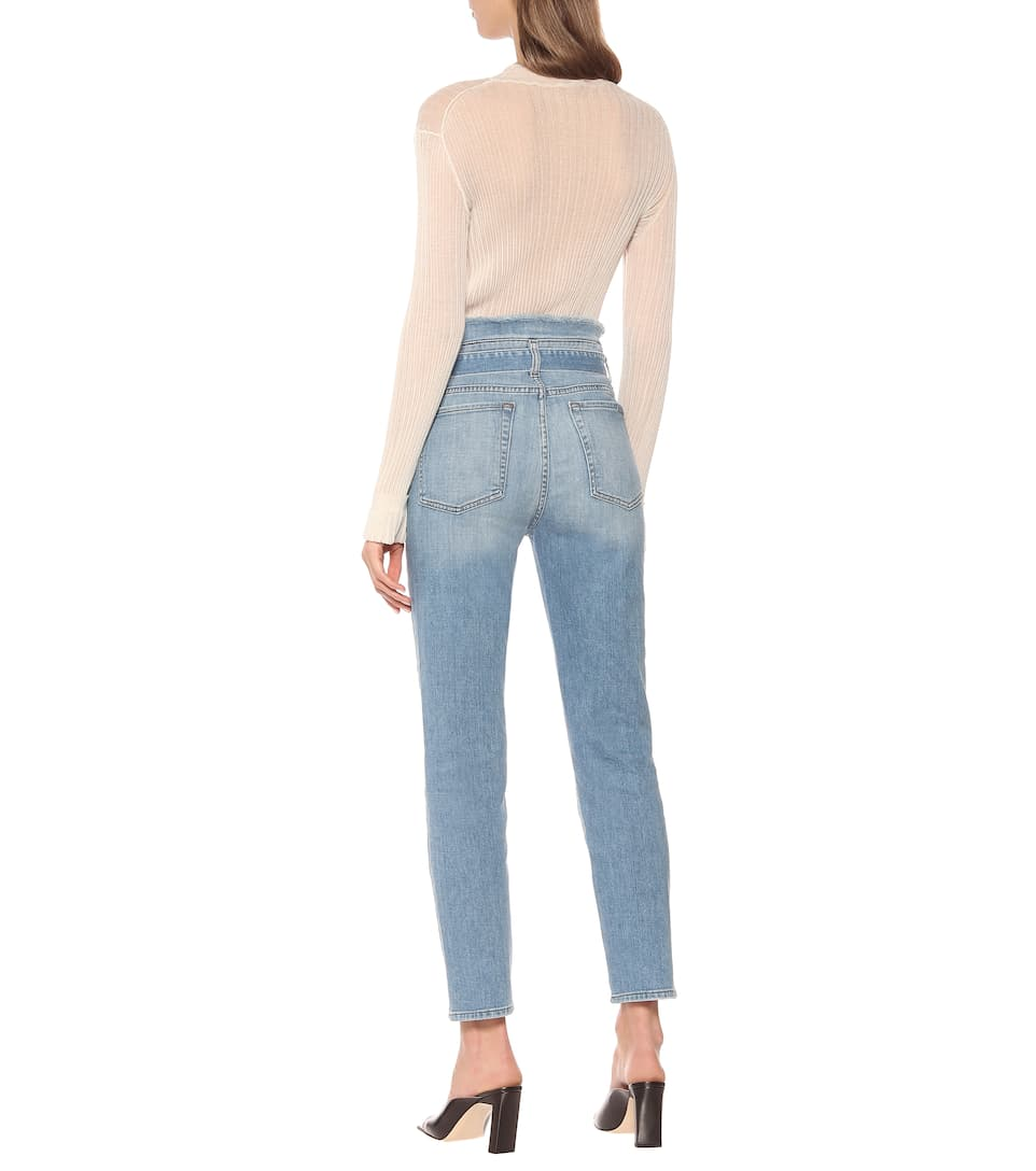 Paperbag High-Rise Skinny Jeans | 7 For All Mankind - Mytheresa