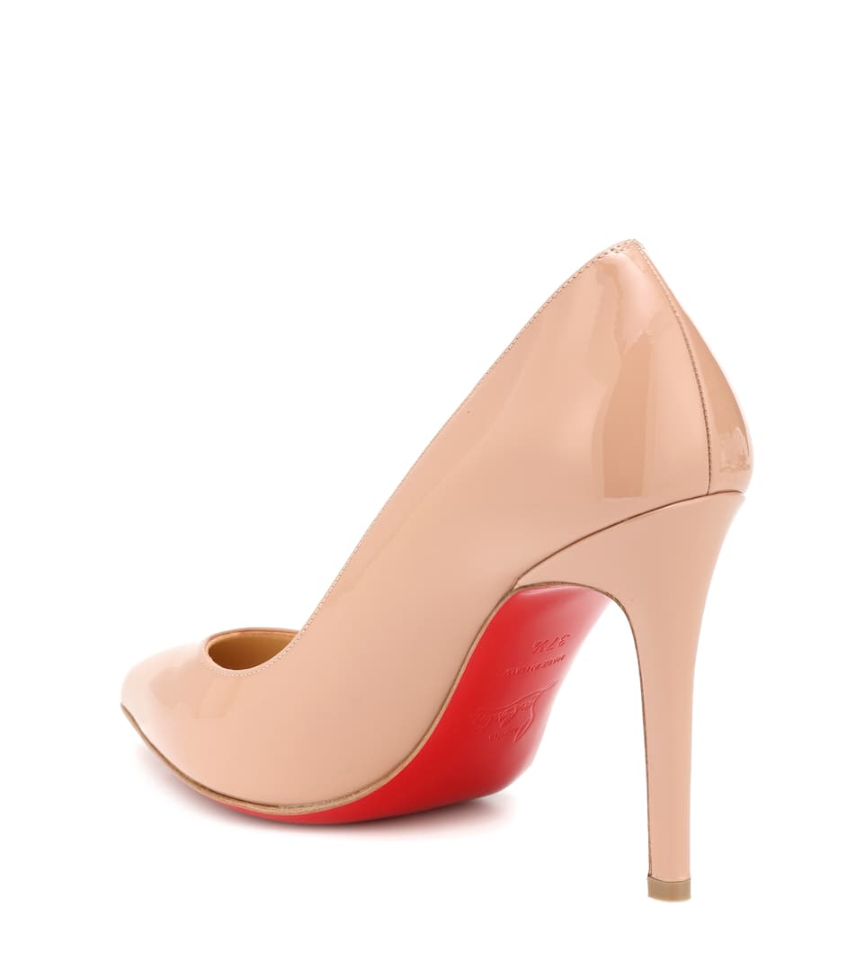 sale retailer bb549 197a0 Pigalle 100 Patent Leather Pumps | Christian Louboutin ...