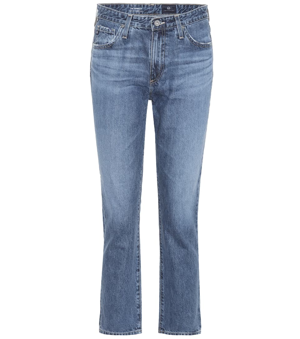 AG Jeans Cropped Jeans Isabelle aus Baumwolle