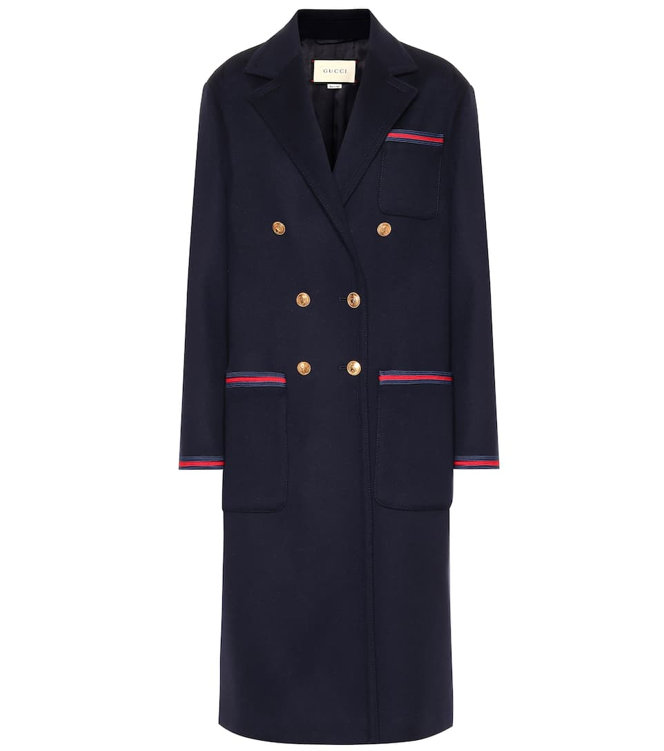 dirt cheap largest selection of online shop Double-breasted wool coat