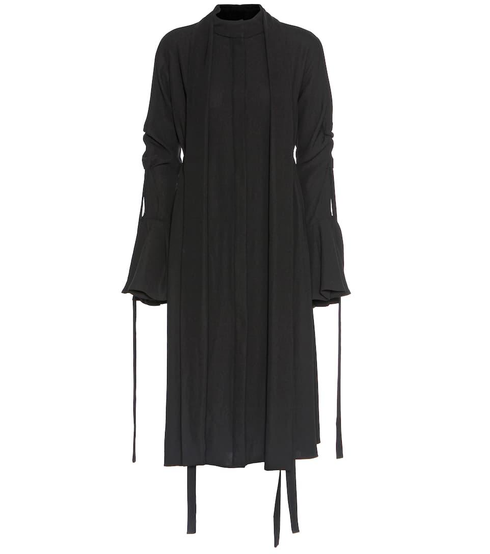 Ellery Inez crêpe shirt dress
