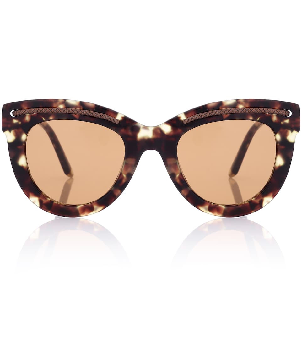 6013cfa6e678f Bottega Veneta - Tortoiseshell cat-eye sunglasses