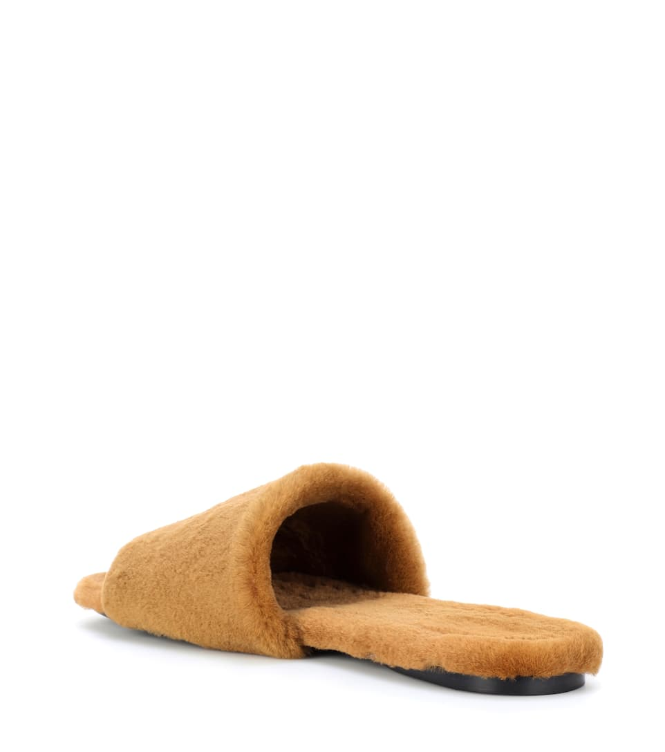 The Row Mules Ellen From Fur