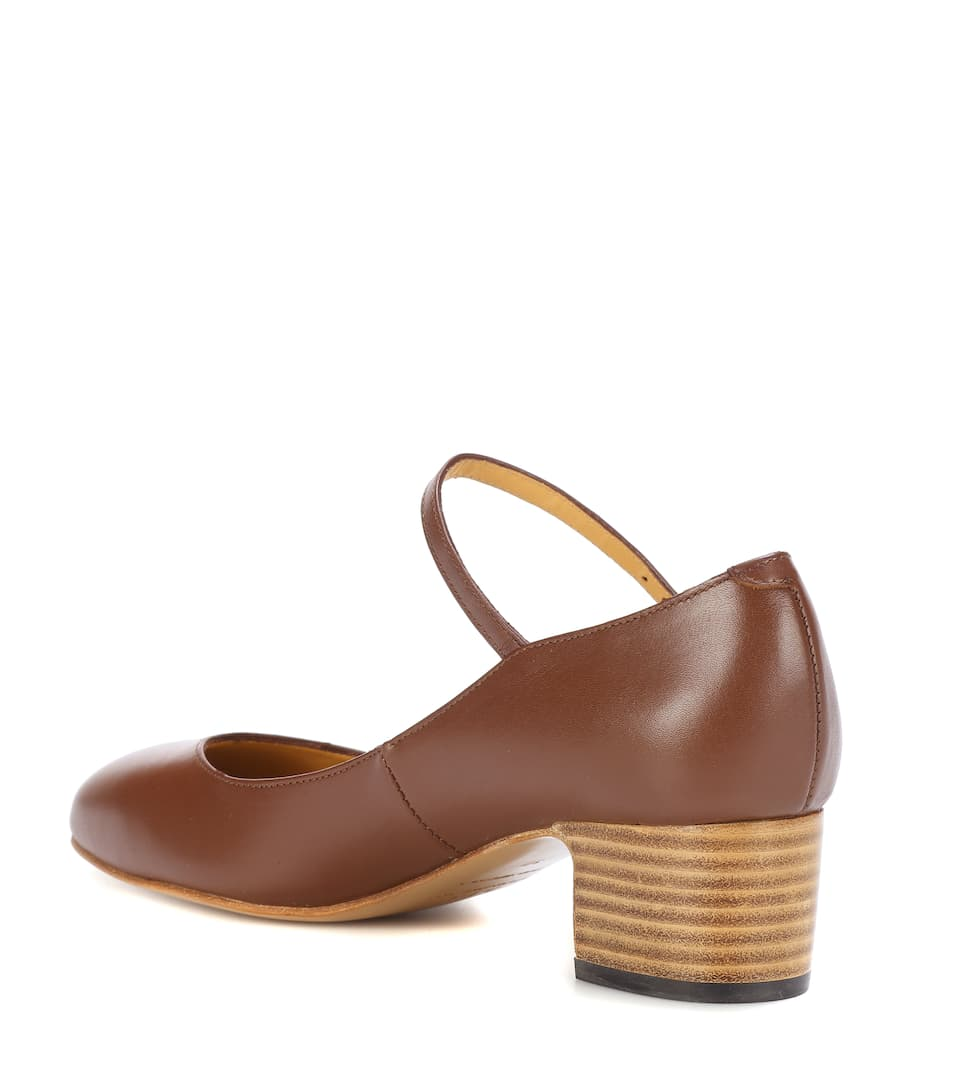 Victoria leather Mary Jane pumps A.P.C. Clearance Amazing Price Fashion Style Affordable Sale Online Sale Cost Cheap Best Sale s5JUmI